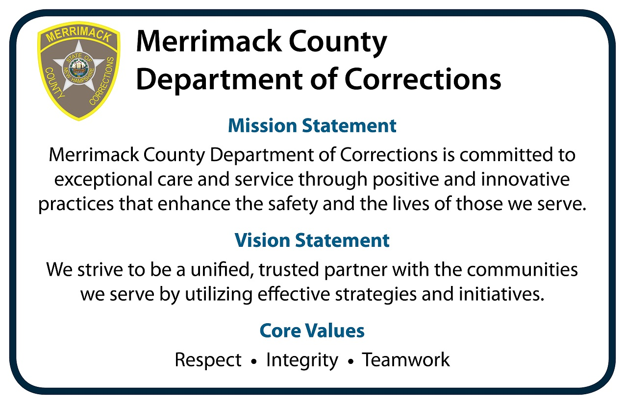 smaller Merrimack County DOC Mission Statement